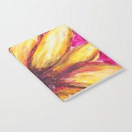 Cheery Yellow Flower Notebook