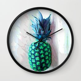 Pineapple Day Wall Clock