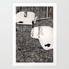 Swing # 3 Art Print