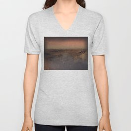 Adventure outside the walls Unisex V-Neck