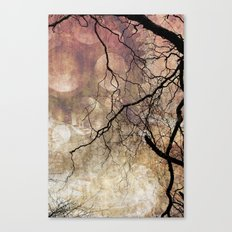 Branches and Texture New Canvas Print