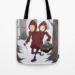 Red Riding Hoods Tote Bag