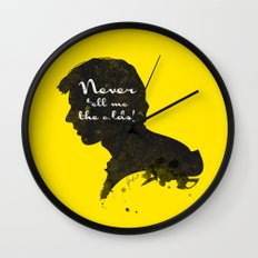 The Odds – Han Solo Silhouette Quote Wall Clock