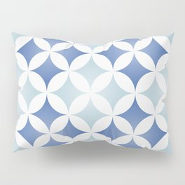 Geometric tile design inspired on traditional Portuguese tiles Pillow Sham
