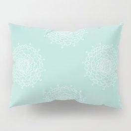 Seaglass Chrysanthemum Pillow Sham