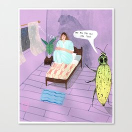 Too old for this  Canvas Print