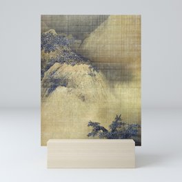 Liang Kai Snowy Scenery Mini Art Print