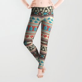 Fair-Hyle Knit Leggings