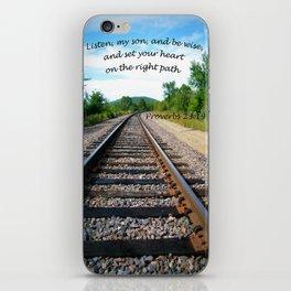 Proverbs 23:19 iPhone Skin