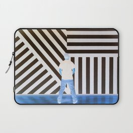 The Ghost at the Museum Laptop Sleeve