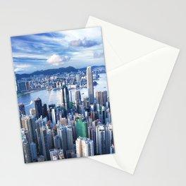 Hong Kong-Buildings Stationery Cards