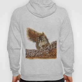 Cheeky the Red Squirrel by Teresa Thompson Hoody