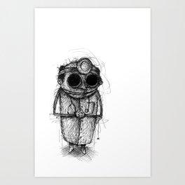 Dr. Death Art Print