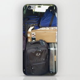 Traveling Heavy iPhone Skin