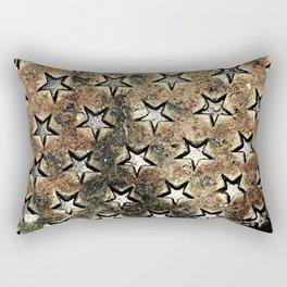 Serie Texturas - CleMpasS - Estrellas Rectangular Pillow