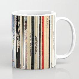 Classic Rock Vinyl Records Coffee Mug