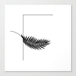 Palm F Canvas Print