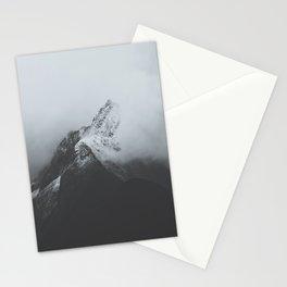 Milford Sound (Black + White) Stationery Cards