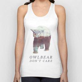 Owlbear (Typography) Unisex Tank Top