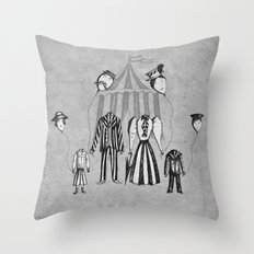 Just Popping Out For Some Air Throw Pillow