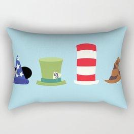 Magic in a Hat Rectangular Pillow