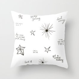 you're doing so well already Throw Pillow