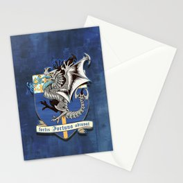 fortis fortuna adiuvat Stationery Cards