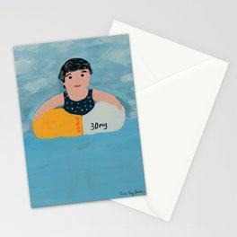 Keeping Afloat Stationery Cards