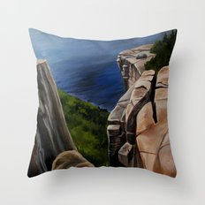 Top of the Giant  Throw Pillow