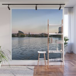 The Lakes Evening Wall Mural