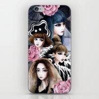 2ne1 iPhone & iPod Skins featuring 2NE1 by Yuki Chen
