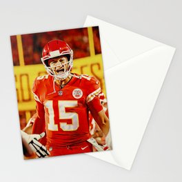 Chiefs and Mahomes Stationery Cards