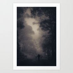 Following Art Print