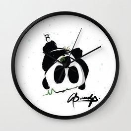 Veg Out Wall Clock