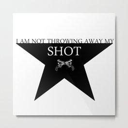 Hamilton: Shot Metal Print