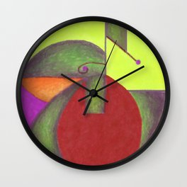 Into the Green 2 Wall Clock