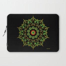 Mandala Reggae en la noche Laptop Sleeve