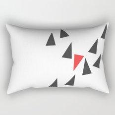 Opposite I Rectangular Pillow