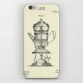 Coffee Urn-1890 iPhone Skin