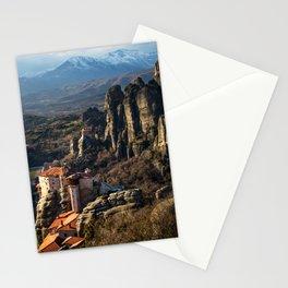 Meteora Sunset Stationery Cards