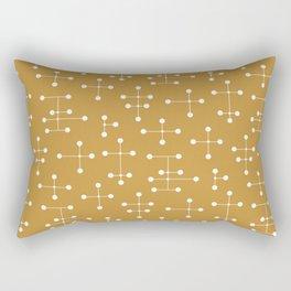 Atomic Era Dots 26 Rectangular Pillow