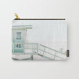 Lifeguard Tower California Beach Life Carry-All Pouch