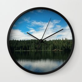 Ocean Calm II Wall Clock