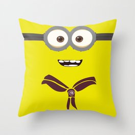 Aventurero Minion  Throw Pillow