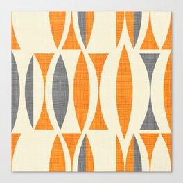 Seventies  orange Canvas Print