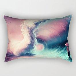 Cross over together Rectangular Pillow