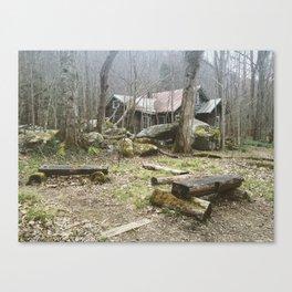 Appalachian Ghost town Canvas Print
