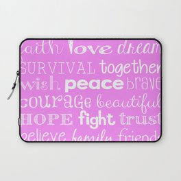 Breast Cancer 2015 light pink Laptop Sleeve