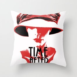 Time After Time Rouge Throw Pillow