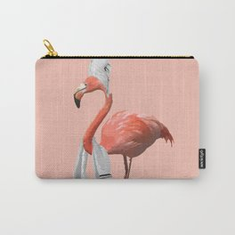 Squeaky Clean Flamingo Carry-All Pouch